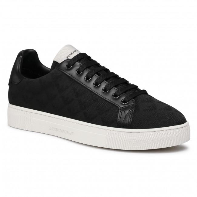 Sneakers EMPORIO ARMANI - X4X316 XM741 K001 Black/Black