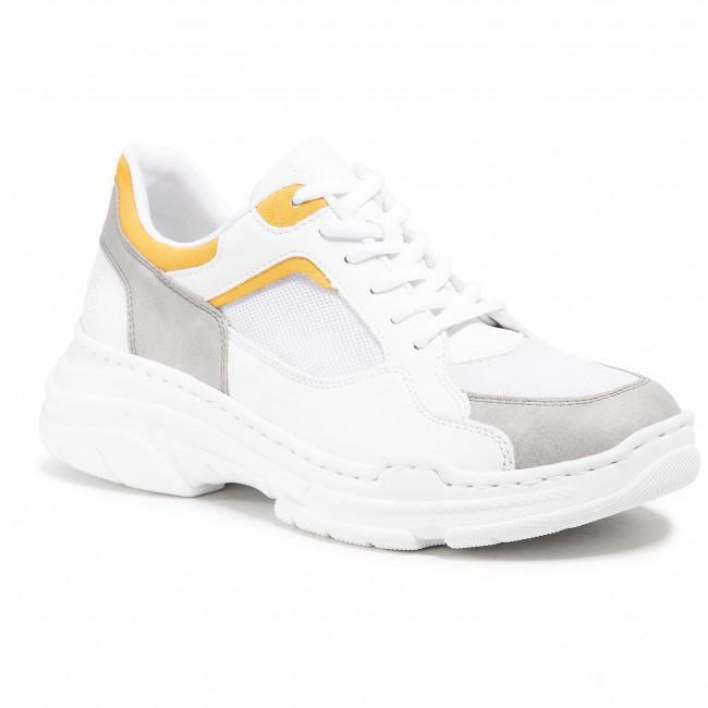 Sneakers RIEKER - 57013-40 Weiss Kombi