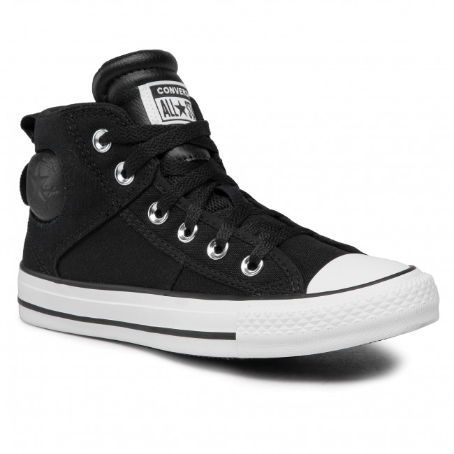 Scarpe da ginnastica CONVERSE - Ctas Cs Mid 166969C Black/White/Black