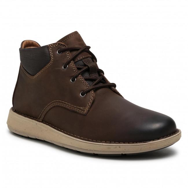 Polacchi CLARKS - Un Larvik Top2 261550807  Brown Leather