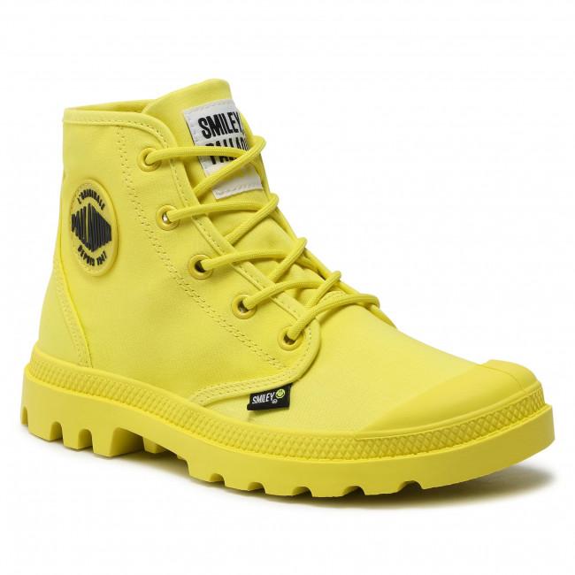 Scarponcini PALLADIUM - Pampa Hi Smiley Be Kind 77079-736-M  Blazing Yellow