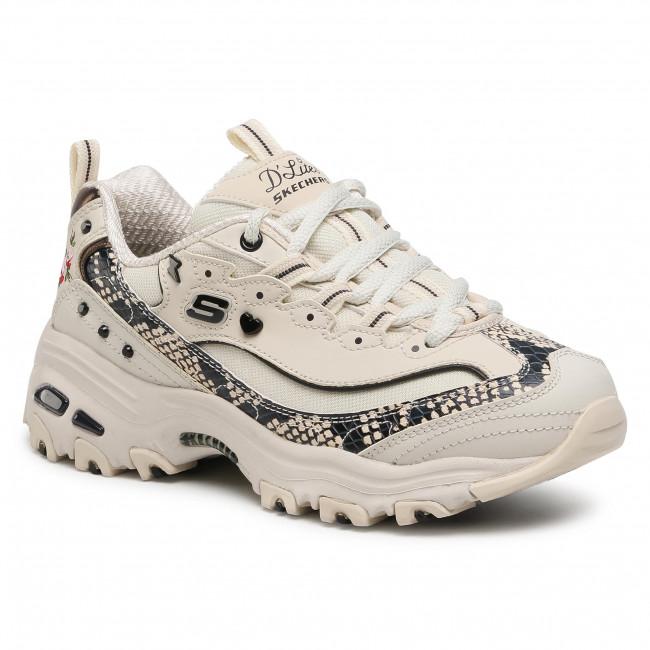 Sneakers SKECHERS - D'Lites-Lightning Petals 149111/NTBK Natural/Black
