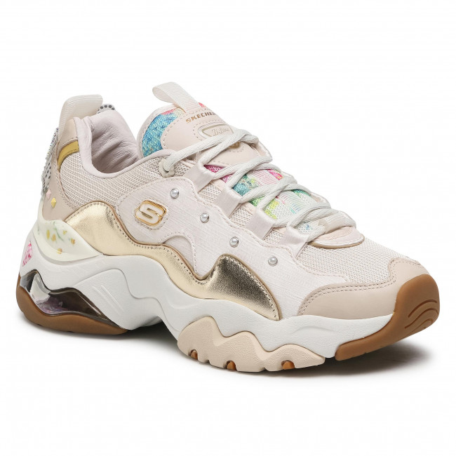 Sneakers SKECHERS - Sparkling Lady 149244/NTGD Natural/Gold