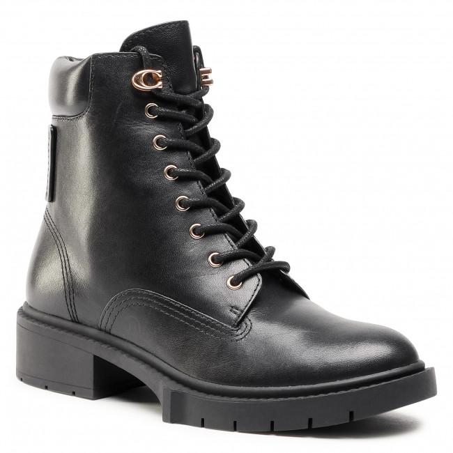 Scarponcini COACH - Lorimer Leather G5293 Black Blk