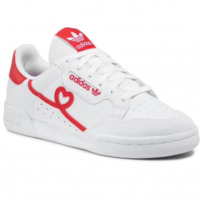 Scarpe adidas - Continental 80 J FY2578 Ftwwht/Vivred/Ftwwht