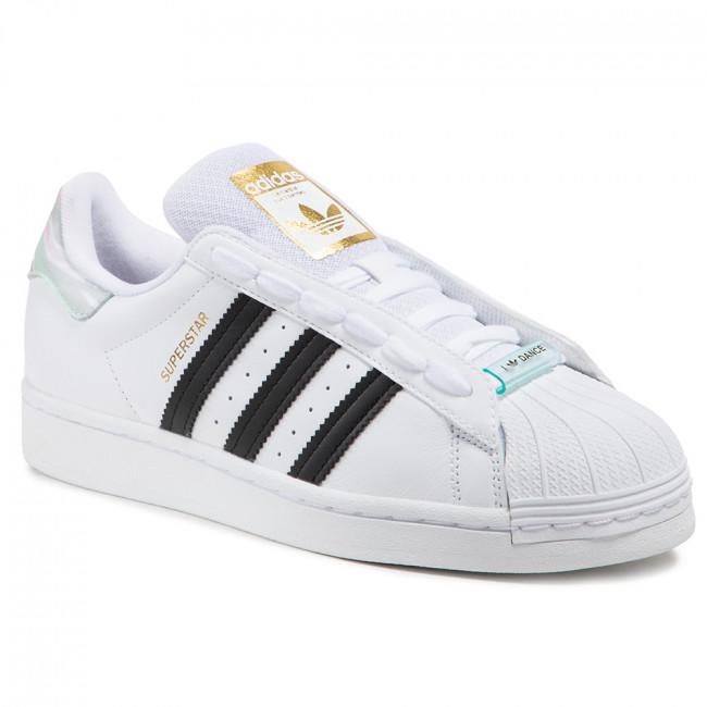 Scarpe adidas - Superstar W FY5132 Ftwwht/Cblack/Frogrn