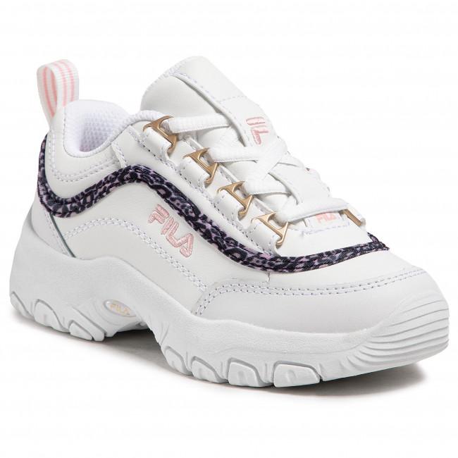 Sneakers FILA - Strada A Low Jr 1011251.94F White/Coral Blush