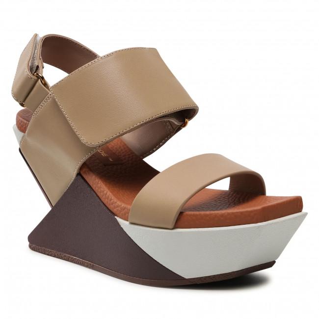 Sandali UNITED NUDE - Delta Wedge Sandal 10413693156  Toffee