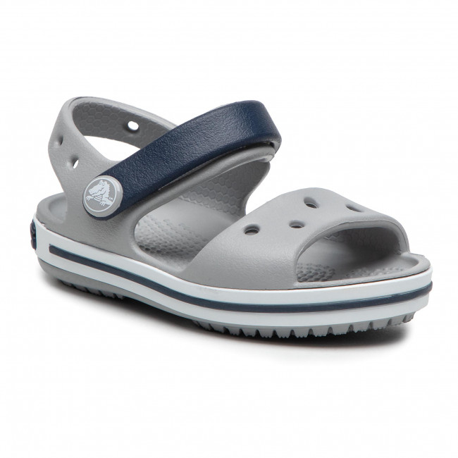 Sandali CROCS - Crocband Sandal 12856 Light Grey/Navy
