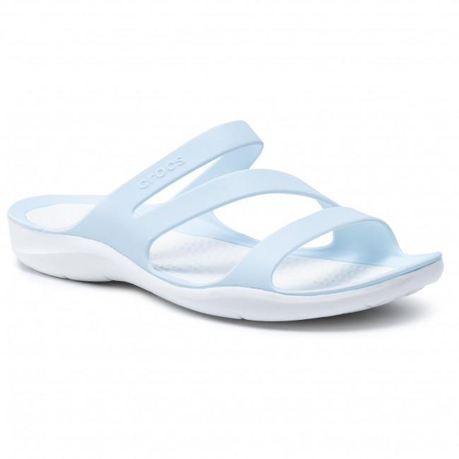 Ciabatte CROCS - Swiftwater Sandal W 203998 Mineral Blue