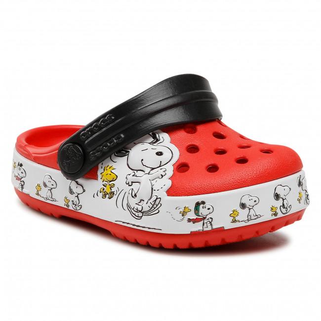 Ciabatte CROCS - Fl Snoopy Woodstock Cg K 206176 Flame