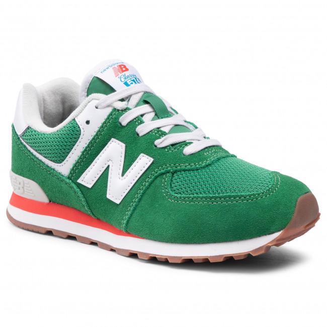 Sneakers NEW BALANCE - GC574HE2  Verde