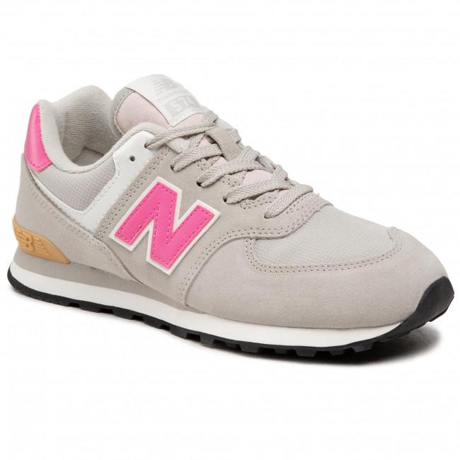 Sneakers NEW BALANCE - GC574ME2 Grigio