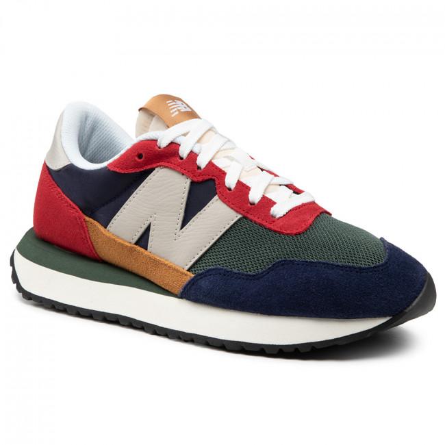 Sneakers NEW BALANCE - MS237LA1 Multicolore Verde