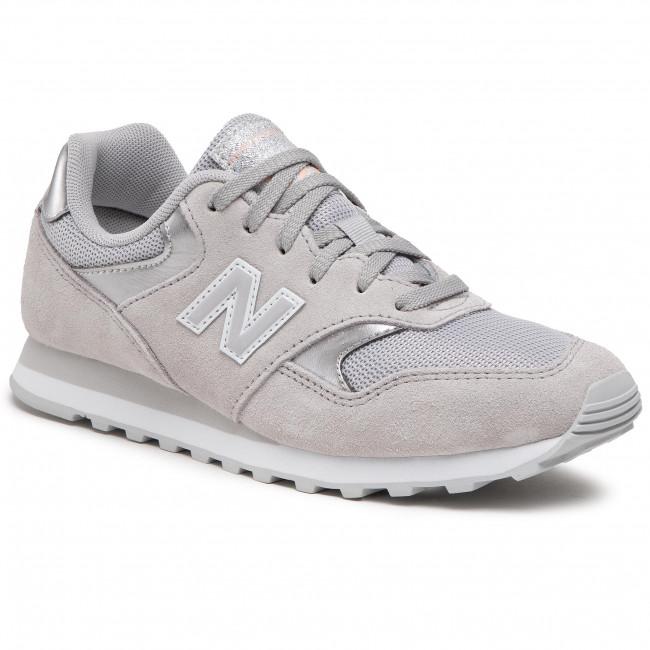 Sneakers NEW BALANCE - WL393MET  Grigio