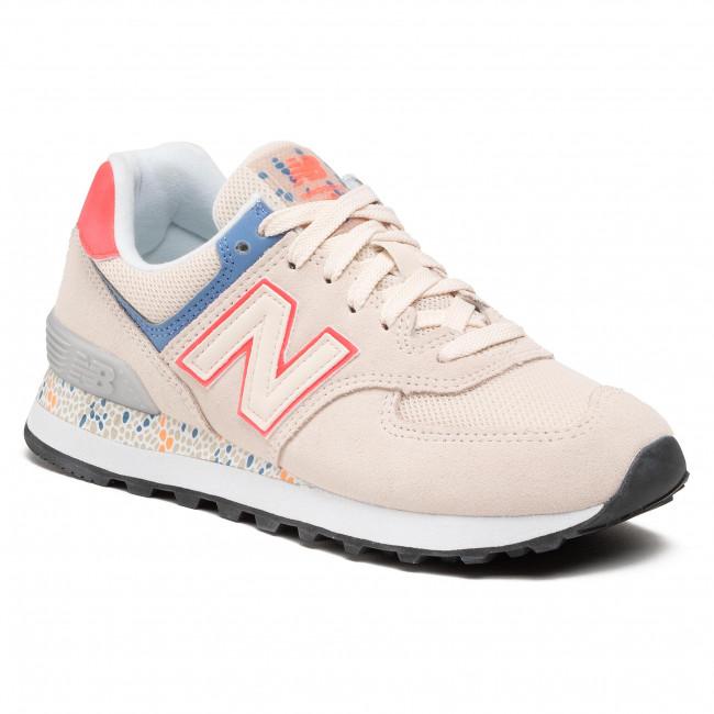 Sneakers NEW BALANCE - WL574CL2 Beige