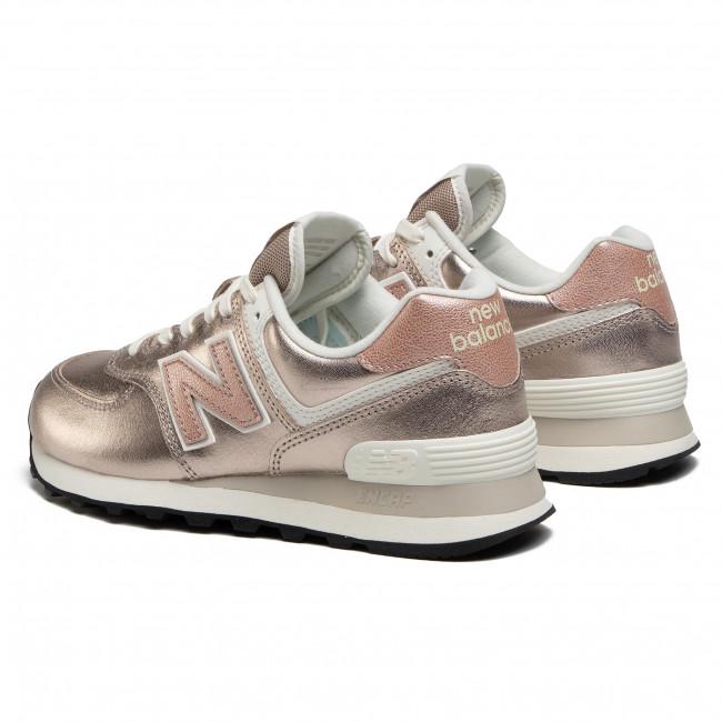Sneakers NEW BALANCE - WL574PM2 Oro