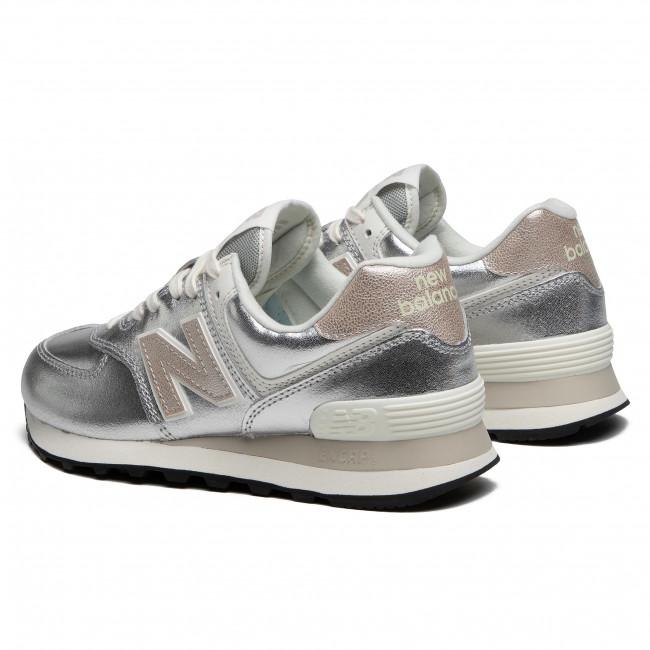 Sneakers NEW BALANCE - WL574PR2 Argento