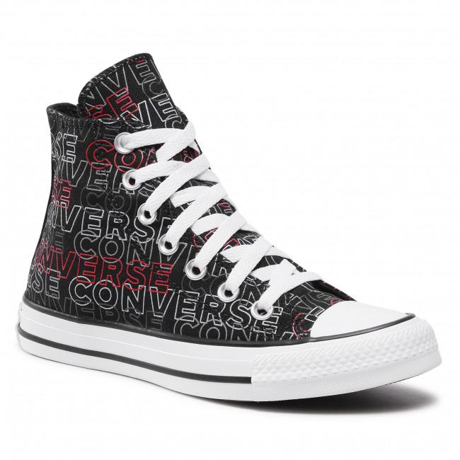 Scarpe da ginnastica CONVERSE - Ctas Hi 170108C Black/University Red/White