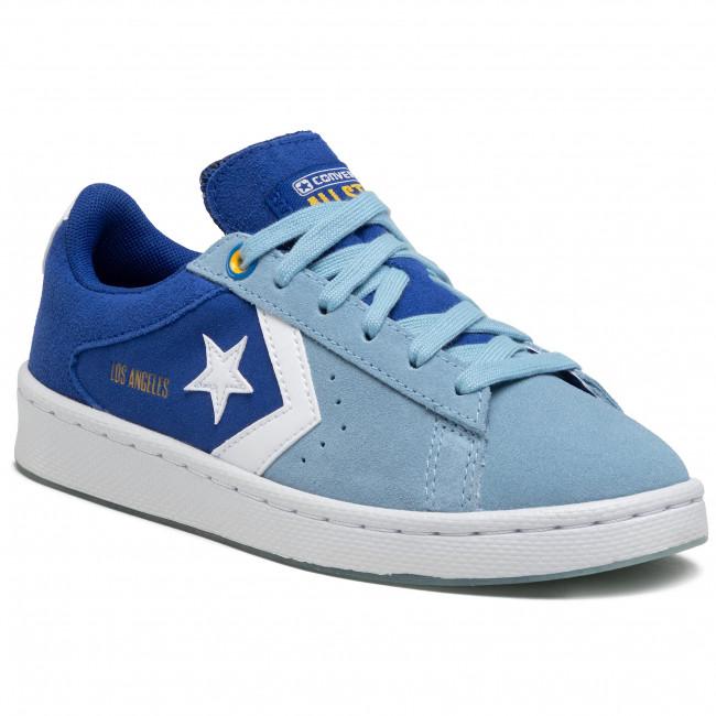 Sneakers CONVERSE - Pro Leather Ox 170239C Rush Blue/Sea Salt Blue/White