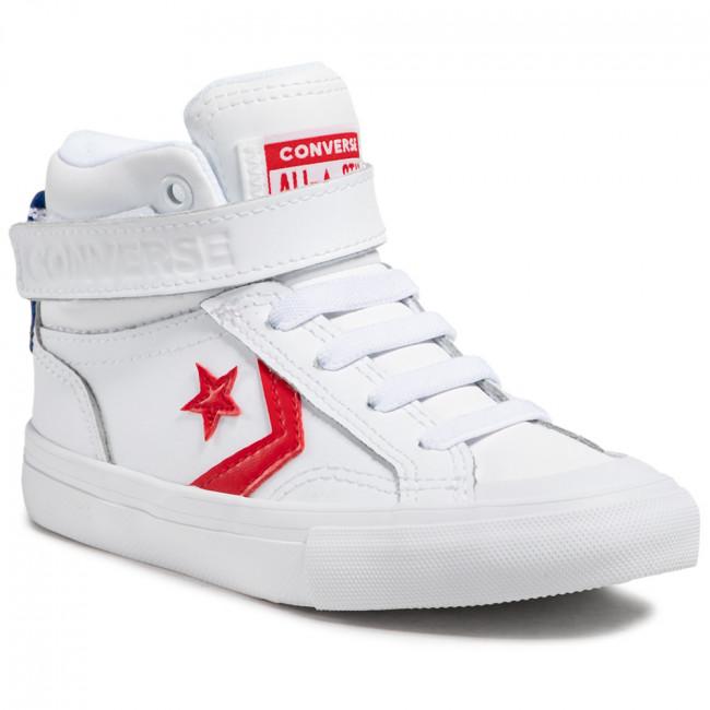 Sneakers CONVERSE - Pro Blaze Strap Hi 670509C White/University Red/Blue