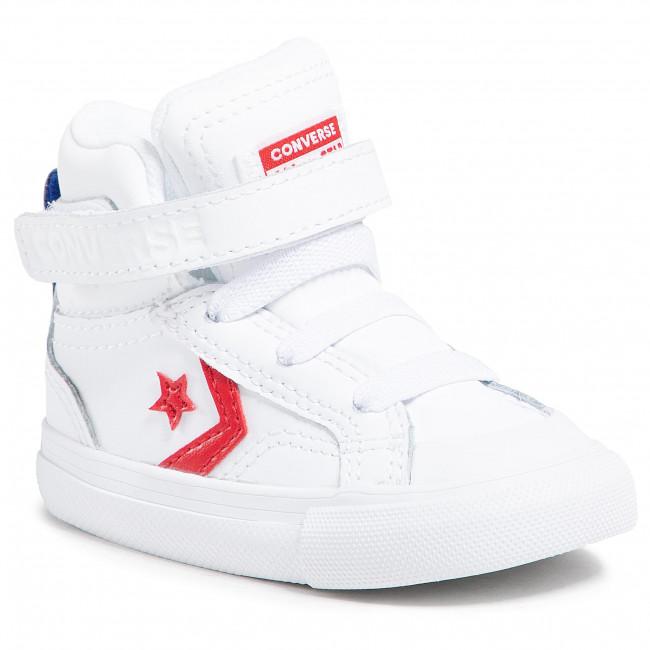 Sneakers CONVERSE - Pro Blaze Strap Hi 770511C White/University Red/Blue