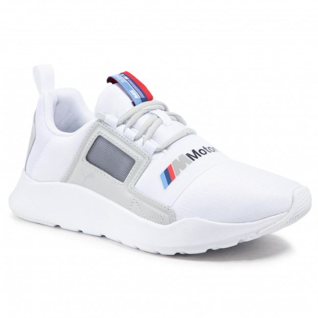 Sneakers PUMA - Bmw Mms Wired Cage 306504 02 P White/Gray Violet/P White