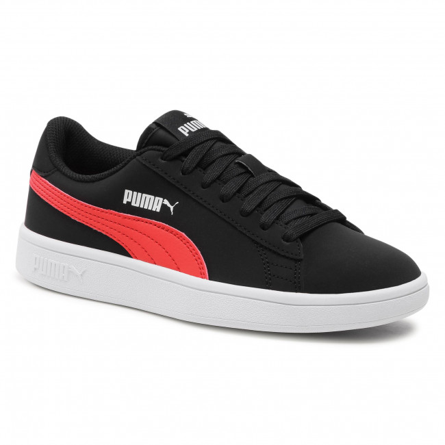 Sneakers PUMA - Smash v2 Buck Jr 365182 26 Black/Poppy Red