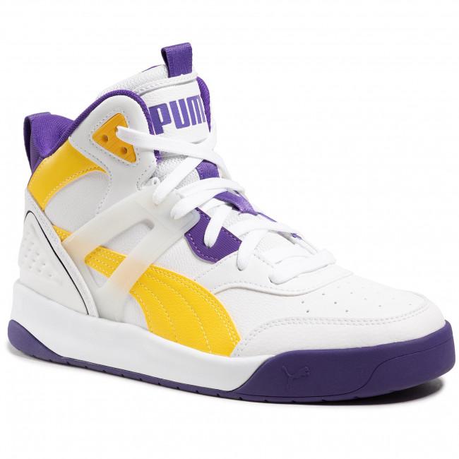 Sneakers PUMA - Backcourt Mid 374139 07 Puma White/Dandelion/Violet