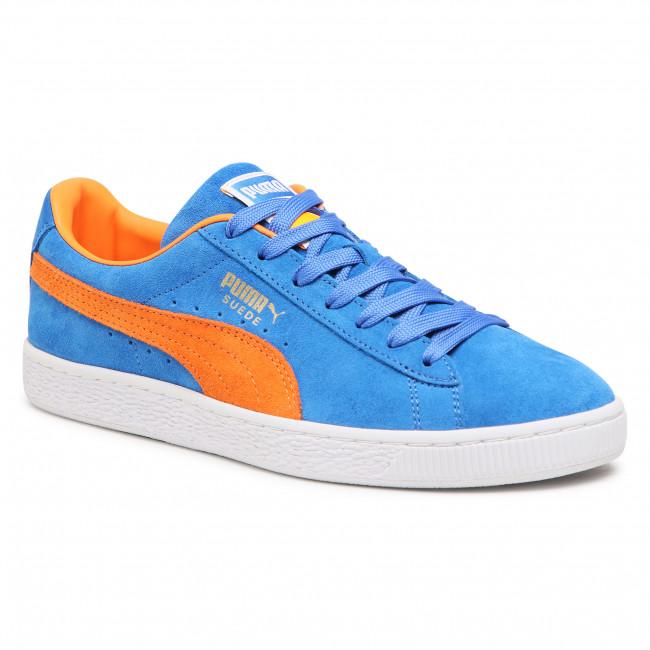 Sneakers PUMA - Suede Teams 380168 01 Puma Royal/Vibrant Orange