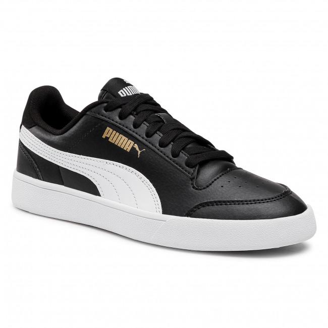 Sneakers PUMA - Shuffle Jr 375688 03 Puma Black/Puma White/Gold