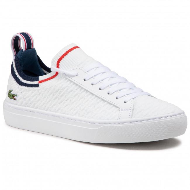 Scarpe sportive LACOSTE - La Piquee 0721 1 Cma 7-41CMA0033407 Wht/Nvy/Red