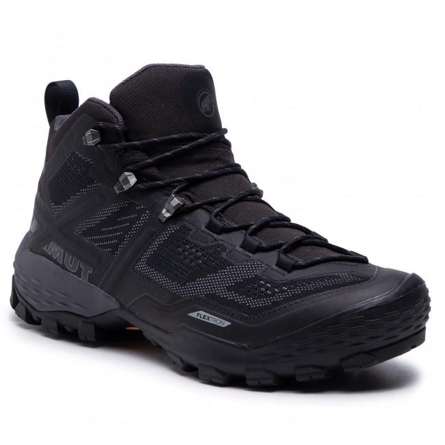 Scarpe da trekking MAMMUT - Ducan Mid Gtx GORE-TEX 3030-03540-00288-1075 Black/Dark Titanium