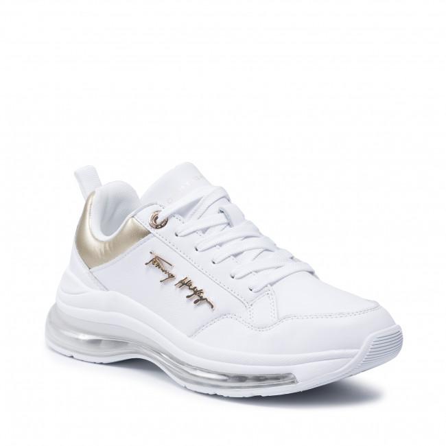 Sneakers TOMMY HILFIGER - City Air Runner Metallic FW0FW05797 White YBR