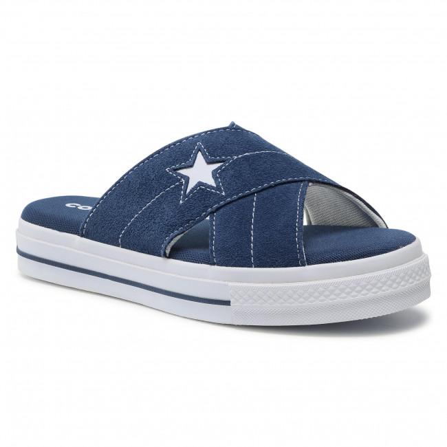 Ciabatte CONVERSE - One Star Sandal Slip 564147C Navy/Egret/White