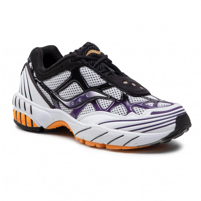 Sneakers SAUCONY - Grid Web S70466-5 Wht/Pur/Yel