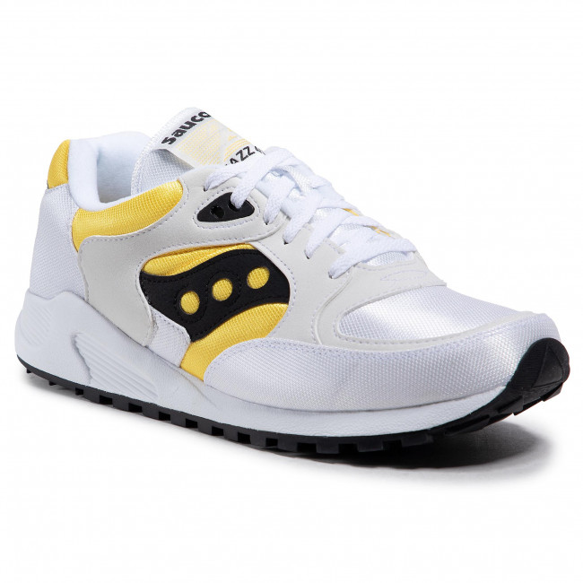 Sneakers SAUCONY - Jazz 4000 S70487-3 Wht/Yel/Blk