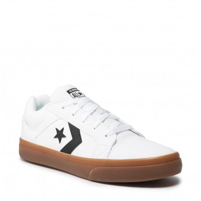 Sneakers CONVERSE - El Distrito 2.0 Ox 170657C White/Black/Gum Honey