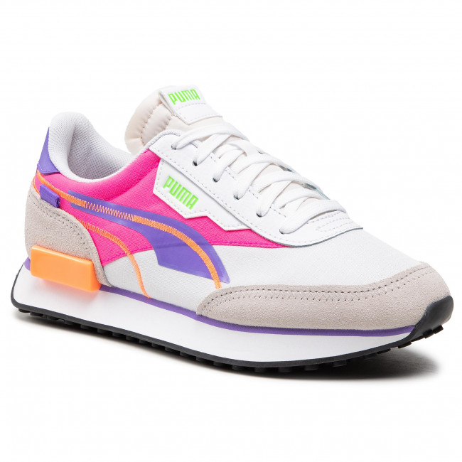 Sneakers PUMA - Future Rider Twofold Sd 381052 03 Puma White/Luminous Purple