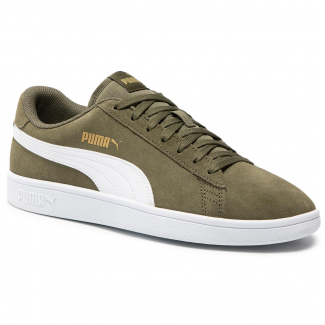 Sneakers PUMA - Smash v2 364989 41 Burnt Olive/Puma White/Gold