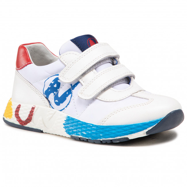 Sneakers NATURINO - Jesko Vl. 0012015885.03.1N10 S White/Red