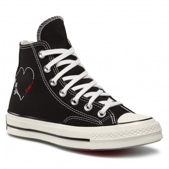Scarpe da ginnastica CONVERSE - Chuck 70 Hi 171118C Black/Egret/Black