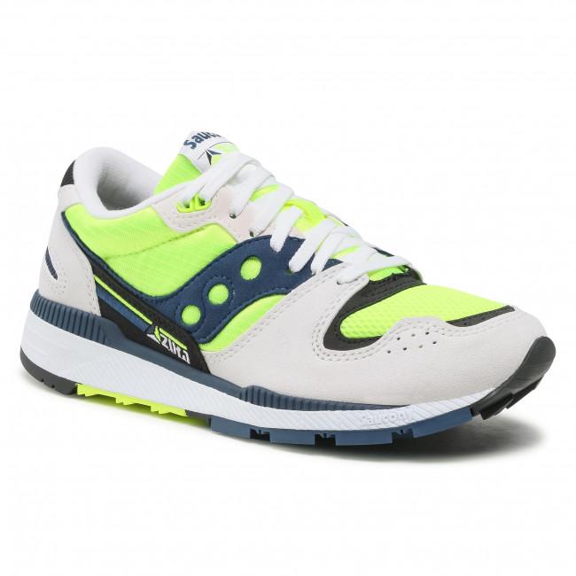 Sneakers SAUCONY - Azura S70437-37 Wht/Citron/Denim
