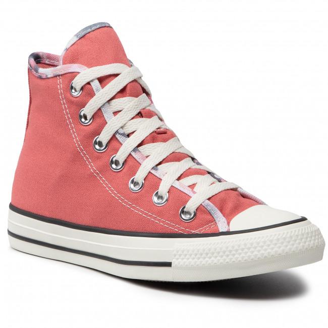 Scarpe da ginnastica CONVERSE - Ctas Hi 570906C Terracotta Pink/Egret/Black