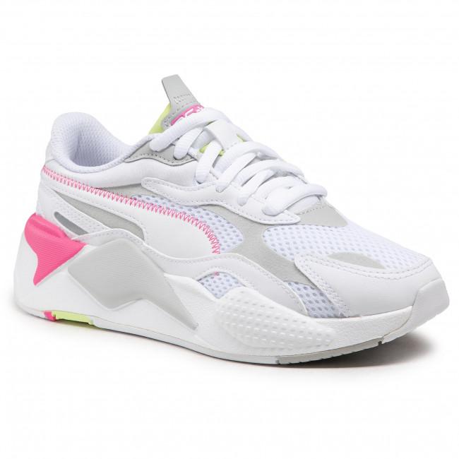 Sneakers PUMA - Rs-X³ Millenium 373236 04 White/Gr Violet/Sharp Green