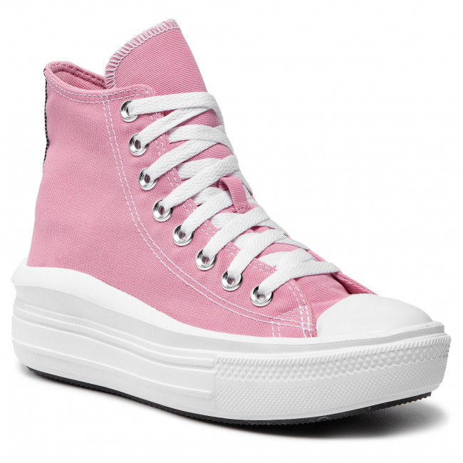 Scarpe da ginnastica CONVERSE - Ctas Move Hi 568795C Lotus Pink/Black/White