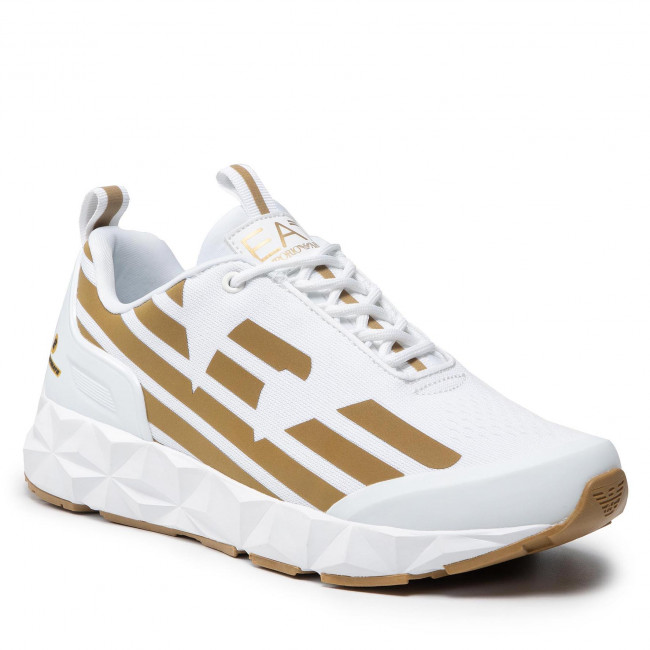 Sneakers EA7 EMPORIO ARMANI - X8X033 XCC52 R579 White/Gold
