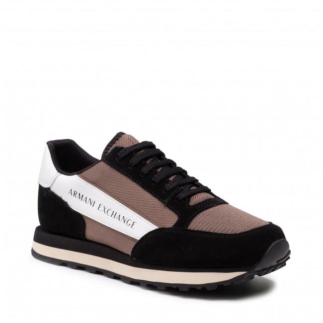 Sneakers ARMANI EXCHANGE - XUX083 XV263 K629 Black/Brown/Off Wht