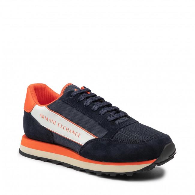 Sneakers ARMANI EXCHANGE - XUX083 XV263 K632 Navy/Orange/Off Wht