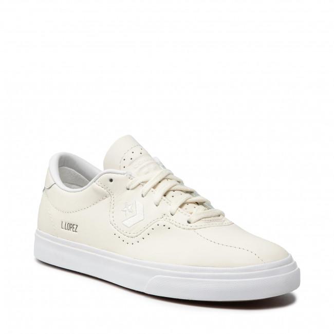 Sneakers CONVERSE - Loue Lopez Pro Ox 170500C Egret/Egret/White
